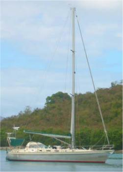 Shearwater 39 GRP, aluminum or timber classic cruiser