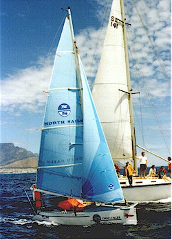 Cape Henry 21 GRP trailer sailer