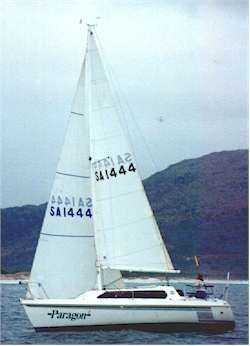 Cape Henry 21 plywood trailer sailer